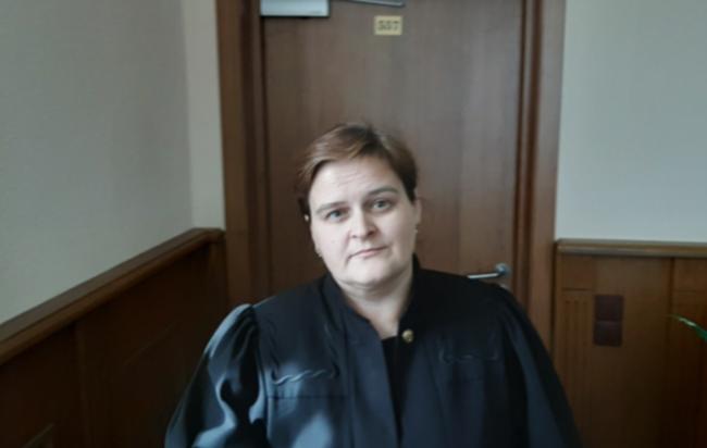 Судья Выборгского районного суда Петербурга Анна Николаева. Фото: facebook.com