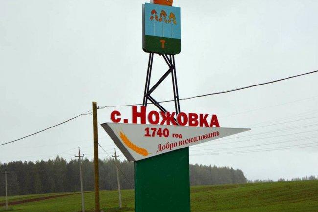 Село Ножовка в Пермском крае. Фото: maps.google.com