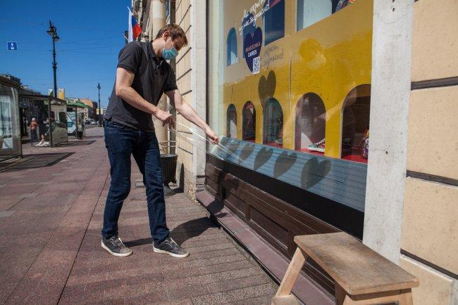 Петербург во время эпидемии коронавируса. Фото: Елена Лукьянова / «Новая газета»