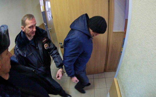 Александр Ефимов в суде. Фото: Валентин Илюшин / 47news