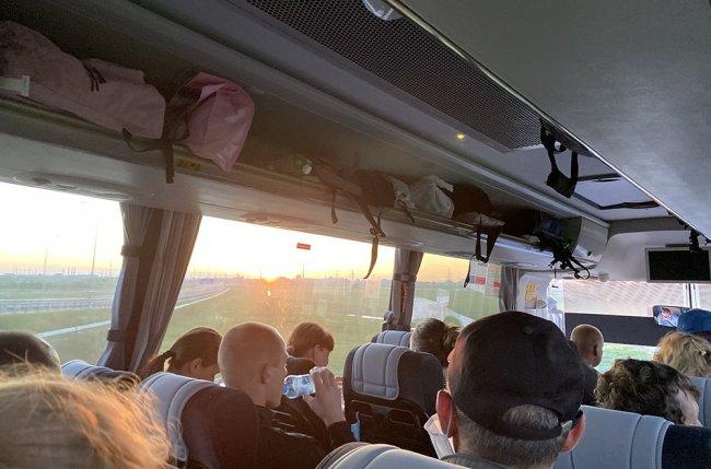 По дороге в Петербург. Фото прислано героями публикации