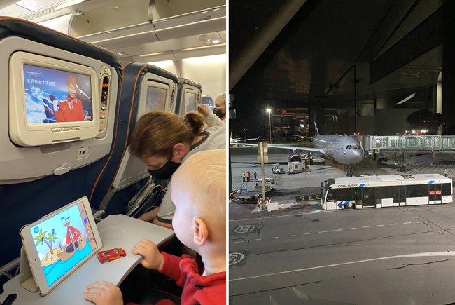 В аэропорту Шереметьево. Фото прислано героями публикации