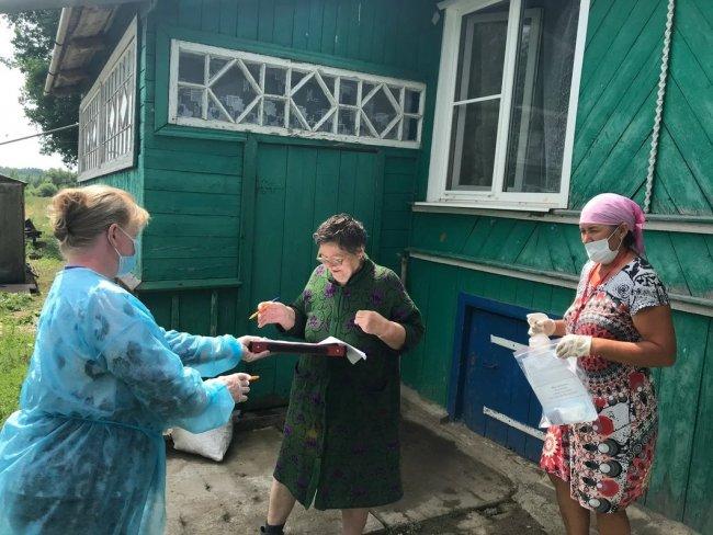 Голосование в Большом Тресно. Фото: Ирина Тумакова / «Новая газета»