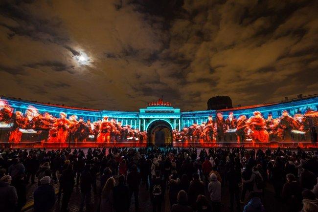Фестиваль света в Петербурге. Фото: @festivalsvetaspb