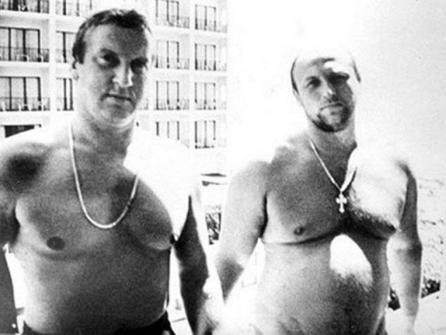 Геннадий Петров и Александр Малышев. Фото из архива