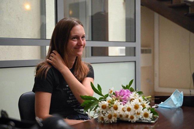 Светлана Прокопьева в суде в день приговора. Фото: Георгий Марков, для «Новой газеты»