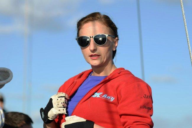 Наталия Морозова, матрос «Лены». Фото: Елена Лукьянова / «Новая газета»