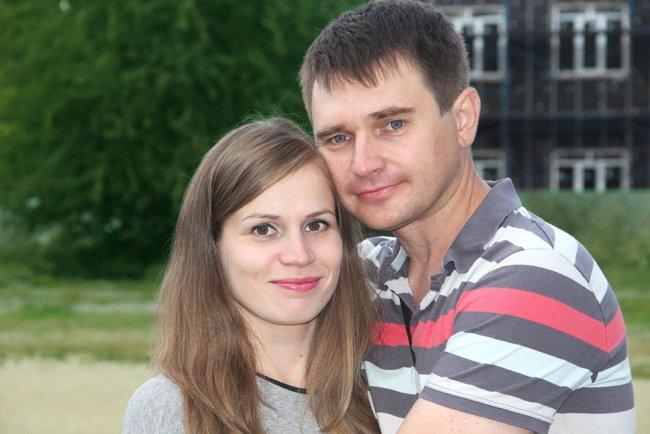 Алина Шавловская и Александр Шаронов. Фото из семейного архива
