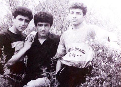 Салифов (в центре) в юности. Фото: primecrime