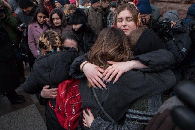 Родственники погибших. Фото: Елена Лукьянова /