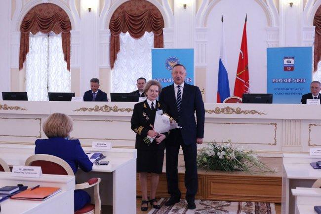 Татьяна Чекалова и Александр Беглов. Фото: gov.spb.ru