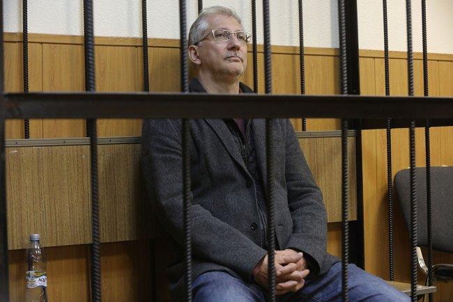 Григорий Слабиков в зале суда. Фото: Сергей Коньков / ТАСС