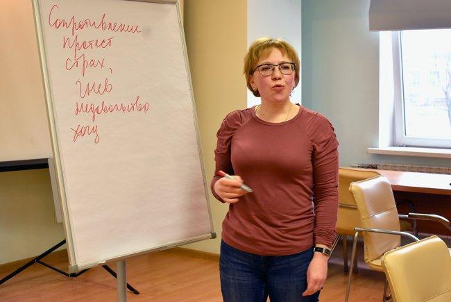 Занятие в родительском центре «Подсолнух». Фото: @centrepodsolnukh