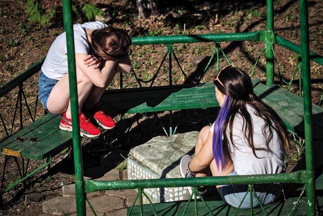 Воспитанницы детского дома во Владимирской области. Фото: Владимир Песня / РИА Новости
