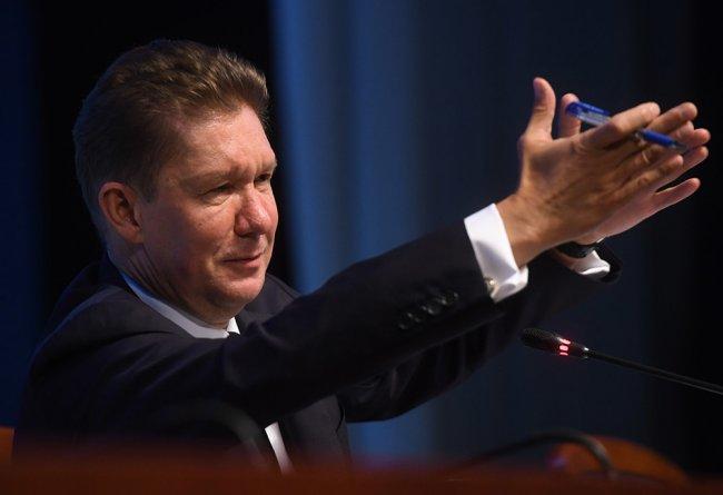 Алексей Миллер. Фото: Илья Питалев / РИА Новости