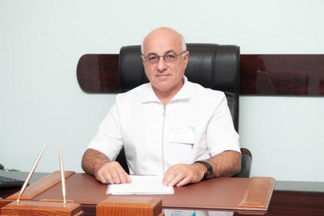 Главврач Елизаветинской больницы Сергей Петров