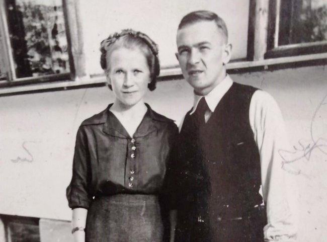 На фото из семейного архива родители Николая и Валерия