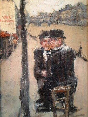 Картина «Мы с Колей никогда вместе не были в Париже»