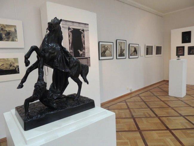 Экспозиция Музея городской скульптуры. Фото: gmgs.ru