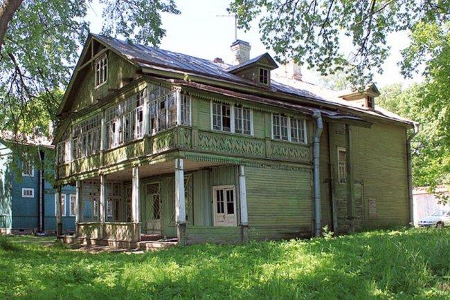 Дача при саде Озерки. Фото: citywalls.ru