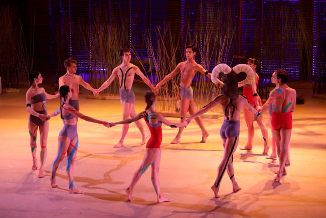 Сцена из балета «Дафнис и Хлоя». Режиссер Владимир Варнава. Фото: mariinsky.ru