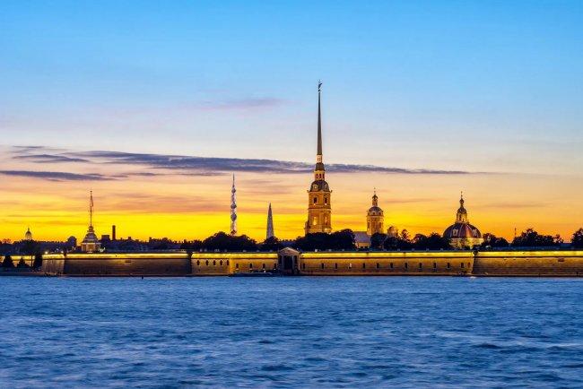 «Лахта Центр 2» в исторической панораме Санкт-Петербурга. Фото: «Газпром»