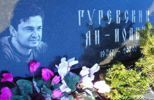 Могила Яна Гуревского на Кузьмоловском кладбище в Петербурге. Фото: spb-tombs-walkeru.narod.ru