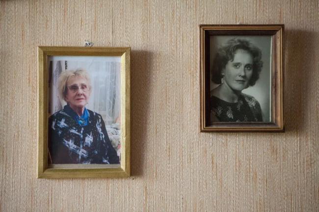 Нина Георгиевна в молодости. Фото: Елена Лукьянова / «Новая газета»