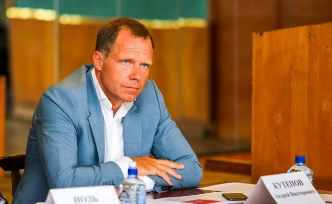 Андрей Кутепов, избранный Сенатором от Петербурга в Совете Федерации РФ. Фото: Фото: assembly.spb.ru