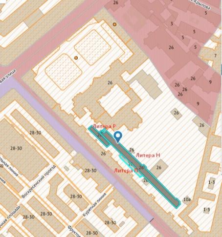 Карта-схема из материалов историко-культурной экспертизы